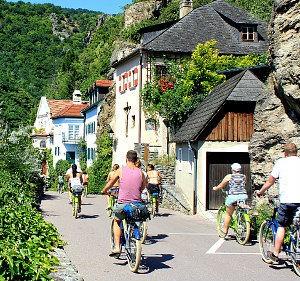 Wachau Tour: Fahrradgruppe