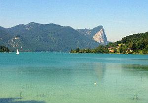 Car rental Vienna: Lake Fuschl