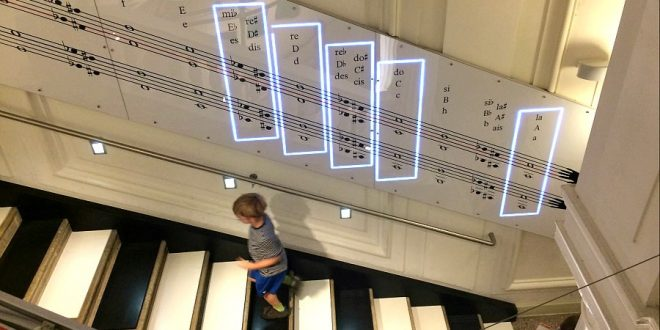 Musikmuseum Wien: Interaktive Klanginstallation des House of Music