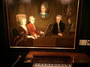Music Museum Vienna: House of Music historic piano