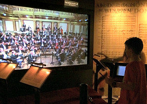 Music Museum Vienna: House of Music's Virtual Conductor game