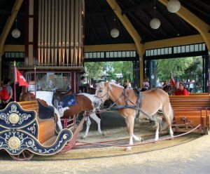 Vienna Prater Amusement Park: Pony Caroussel