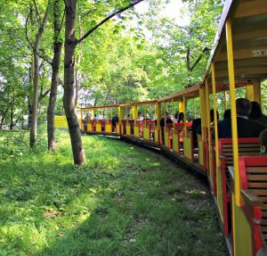 Vienna Prater Amusement Park: mini ralway