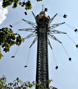 Vienna Prater Amusement Park: chain caroussel