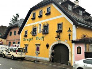 Vienna wineries: Heuriger Wolff