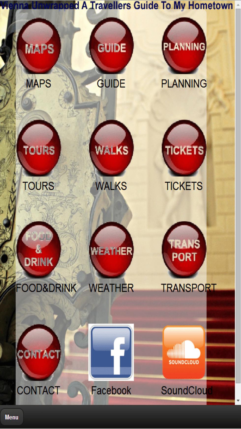 Vienna City Guide PDF: mobile app