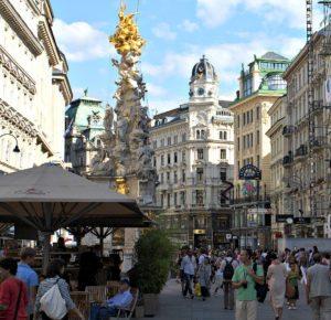 Vienna city centre: Graben