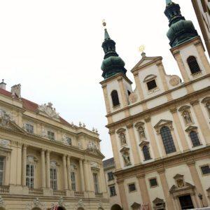 Vienna city centre: University Church