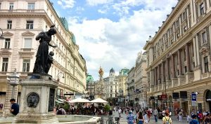 Vienna districts: Graben in first district
