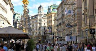 Vienna Sights: Graben boulevard