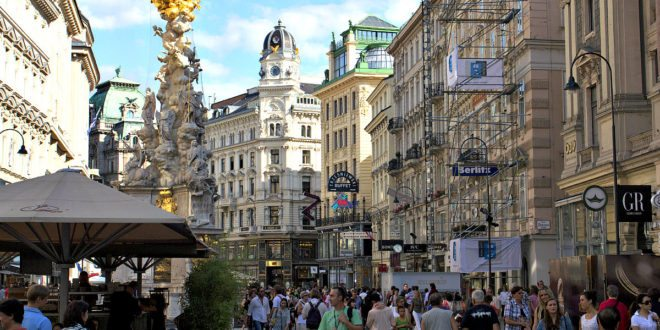 Vienna City Centre - Old Town Vienna Routes And Map ...