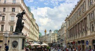 Graben boulevard in Vienna