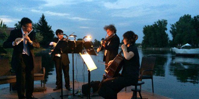 Vienna Danube concerts: floating concert