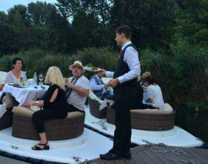 Vienna Concert Danube: dinner at floating concert