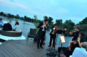 Vienna Concert Danube: on the Old Danube