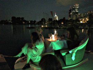 things to do in Vienna July: floating concert Old Danube
