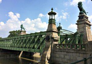 Vienna bicycle tour: Schemerl Bridge