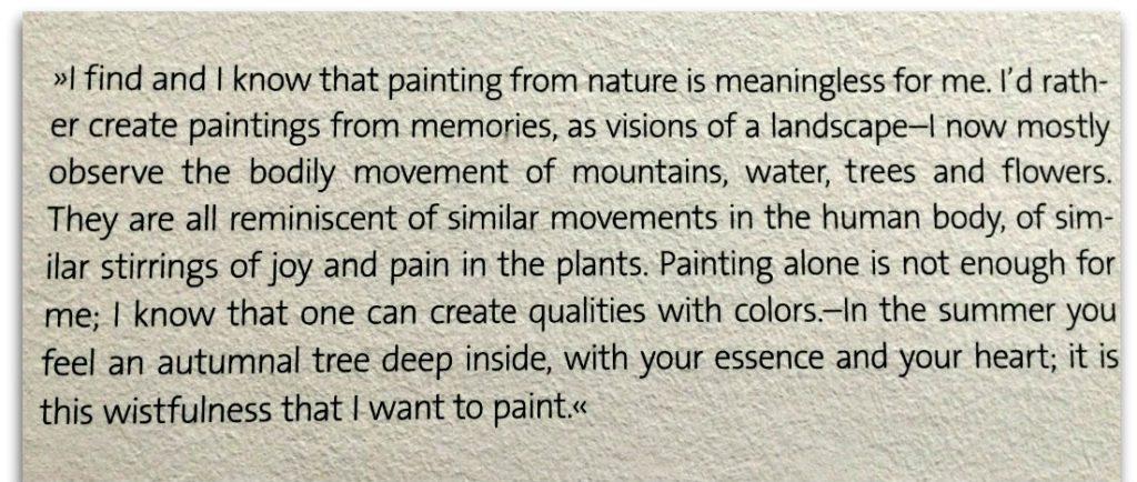 Egon Schiele Museum: letter to Franz Hauer
