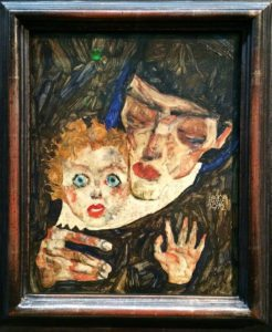 Egon Schiele Museum: Mother and Child