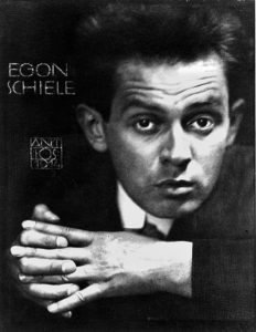 Egon Schiele Museum: photograph of Schiele