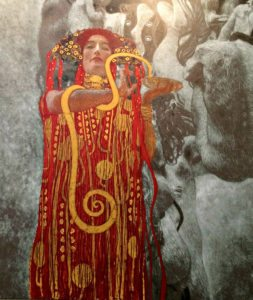 Things to do in Vienna January: Gustav Klimt installation at Leopold Museum