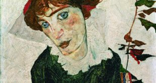 Egon Schiele Museum: Portrait of Wally Neuzil
