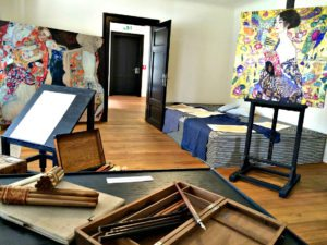 Klimt Villa Vienna: Gustav Klimt's studio