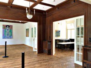 Klimt Villa: first floor main room