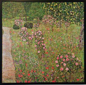 Klimt Villa: Orchard with Roses, 1912