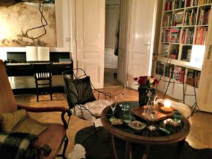 Private dining in Vienna: lounge