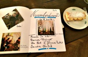 Private dining in Vienna: Guest book