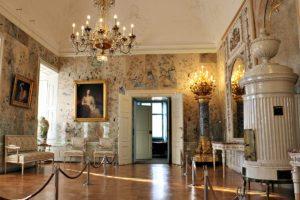 Burgenland: bedroom at Esterhazy Palace