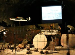 Seegrotte Tour Review: World War II aircraft objects