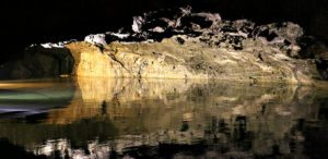 Seegrotte Tour Review: underground lake reflections