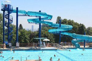 Schafbergbad pool in Vienna