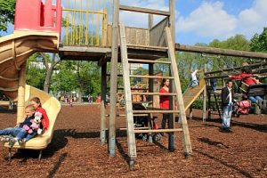 Vienna: Playground at Stadtpark