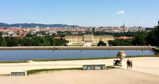 Austria Capital: Vienna view from Schonbrunn