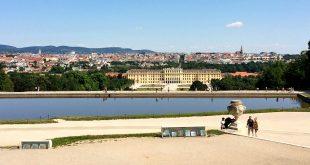 Austria Capital: Vienna view from Schonbrunn