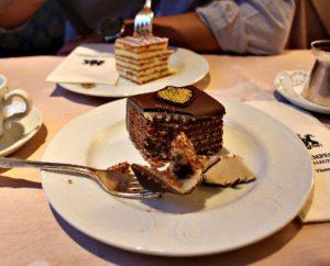 Wofür ist Wien bekannt: Wiener Kuchen