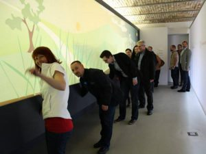 Burgenland wine tour: the touch room