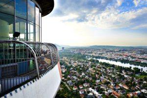 Vienna Attractions: Danube Tower restaurant