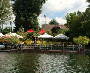 Vienna Danube restaurant Neu Brasilien