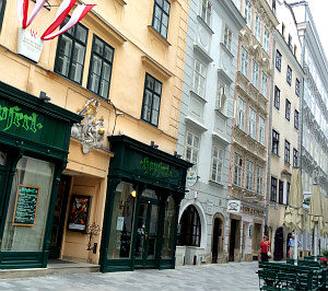 24 Hours in Vienna: Naglergasse