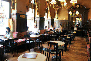 Vienna coffee houses: Cafe Sperl