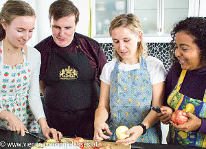cooking classes and private dining in Vienna