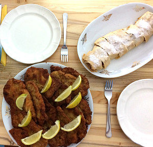Vienna cooking classes: Schnitzel and Strudel
