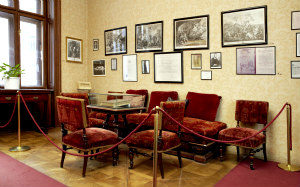 Sigmund Freud Museum: Waiting room