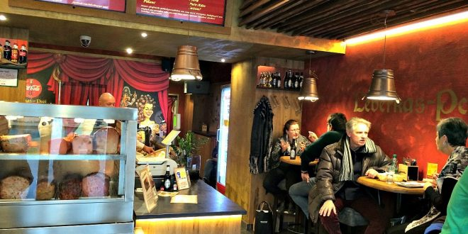 snack bars Vienna: Leberkas Pepi