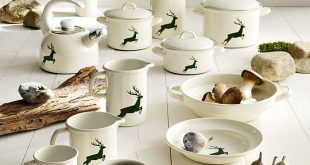What to buy in Vienna Austria: Riess enamel set Hirsch