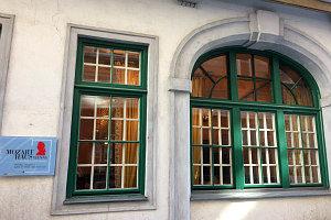 Mozart house Vienna: entrance Schulerstrasse
